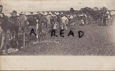 Soldier group Hampshire Carabiniers Yeomanry B Squadron Annual camp 1908