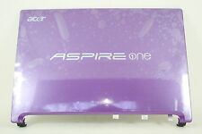 Acer Aspire One Purple LCD Rear Top Lid Cover 60.SCL02.003 AP0DM000831