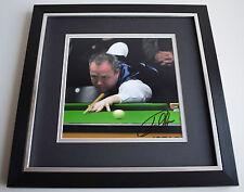 John Higgins SIGNED Framed LARGE Square Photo Autograph display AFTAL & COA