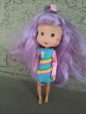 6 1/2 inch tall TCFC 2008 Doll with Purple Hair-Dress No Shoes