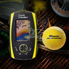 Portable Wireless Sonar Sensor Fish Finder Detector Smart Fishfinder Transducer
