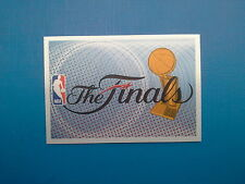 2010-11 Panini NBA Sticker Collection n.  4 The Finals Logo