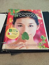 Discovering Psychology (Loose Leaf) by Sandra E. Hockenbury + Study Guide