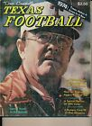 Dave Campbell's Texas Football 1974 Darrell Royal The Wishbone Era Louie Kelcher