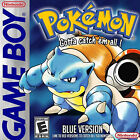 Pokemon Blue Version - Battery Saves - (Nintendo Game Boy) AUTHENTIC GAME ONLY!