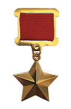 USSR Gold Star Service WW2 Order Medal Hero of the Soviet Union Excellent Copy