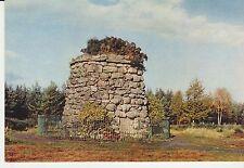 Vintage unused Arthur Dixon Postcard, Memorial Cairn, Culloden Moor, 3842