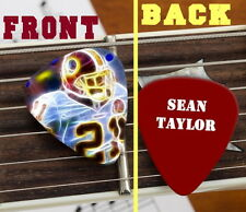 Washington Redskins Sean Taylor Set of 3 premium Promo Guitar Pick Pic