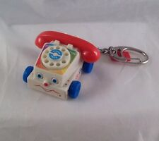 Fisher Price Mini Small Chatter Telephone Keychain Phone Mattel Toy