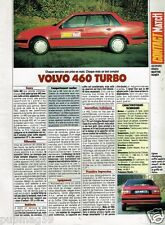 Coupure de Presse Clipping 1990 (1 page) Volvo 460 Turbo