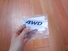 """OEM REAR TRUNK EMBLEM LOGO BADGE """"4WD"""" for 13-14 Hyundai Santa Fe DM +Tracking"""