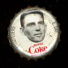 1965 COKE CAPS COCA-COLA CAP + CORK CFL FOOTBALL EAGLE DAY CALGARY STAMPEDERS