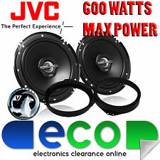 "Vauxhall Vectra C 02-09 JVC 17cm 6.5"" 600 Watts 2 Way Front Door Car Speakers"