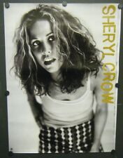 SHERYL CROW PROMO POSTER SELF-TITLED 1996 ALBUM IF I MAKES YOU HAPPY