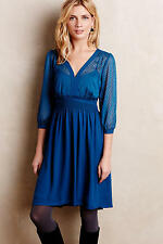 NWT Anthropologie Celeste Dress, by HD in Paris - Blue, size 2