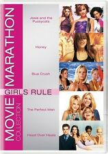 GIRLS RULE - JOSIE AND THE PUSSYCATS HONEY BLUE CRUSH THE PERFECT MAN + DVD R1