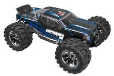 Redcat Racing Earthquake 3.5 1/8 Scale Nitro Monster Truck Blue 2 Speed 4x4 rc