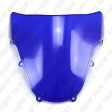 New Style Blue Motorcycle Windshield Windscreen For Suzuki GSXR1000 2001-2002