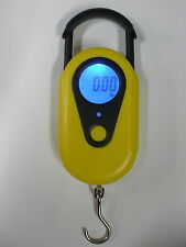 Electronic Digital Hanging Scale Fishing 44# w/Batteries