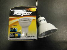 6 x Energizer GU10 LED 5.7W (50W) 3000K 345lm Dimmable Bulbs
