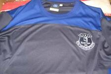 EVERTON  ESSENTIALS POLY T SHIRT  LARGE MENS NEW WITH TAGS