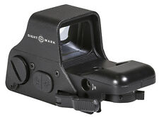 SIGHTMARK ULTRA SHOT PLUS REFLEX SIGHT - RED/GREEN MULTI-ILLUM RETICLE - SM26008
