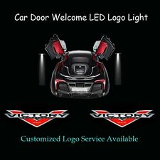 Car Door Laser Projector Shadow CREE LED Logo Light for USA Victory Motorcycles