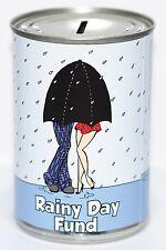 Rainy Day Fund | Savings Tin - STANDARD - Savings Jar, Rainy Day Money Tin