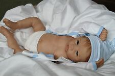 "My PERFECT Baby Boy! Lifelike Collectible 20"" Newborn Boy Doll + 2 Outfits"