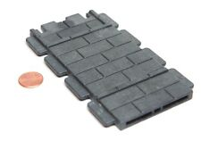 "Playmobil Castle Dark Grey ""Stone"" Flat Wall Spare Part 5725"