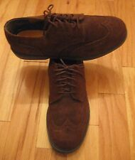NORTHWEST TERRITORY DRY TREDS 44360 MENS BROWN SUEDE WINGTIP OXFORDS SIZE 10