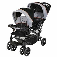 Baby Trend Double Sit N Stand Toddler and Baby Stroller, Millennium Orange