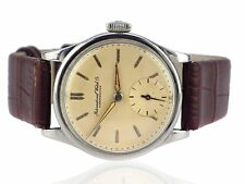 IWC International Watch & Co Schaffhausen Herren armbanduhr  cal. 83 35 mm