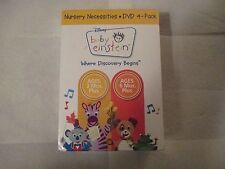 Baby Einstein - Nursery Necessities (DVD, 2009, 4-Disc Set)Factory Sealed