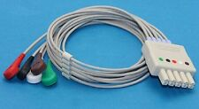 5Leads Drager Siemens ECG Cable And Leadwire AHA