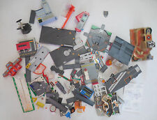 Large lot Micro Machines Galoob 40 vehicles cars helicopters car wash / carrier