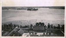 CHINA, SUMMER PALACE IN BEIJING & ORIGINAL ca 1920's SNAPSHOT PHOTO
