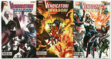 serie VENDICATORI INVASORI Completa 1/3 - Ed. Marvel Panini Comics