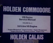 Holden VN Commodore FACTORY Service / Repair manual 3.8 lt. V6 ENGINE