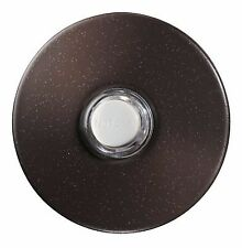 NEW NuTone PB41LBR Lighted Pushbutton Oil Rubbed Bronze Doorbell Button 2-1/2""