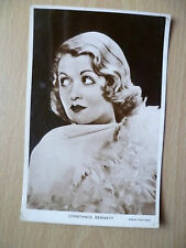 Vintage Film Star Real Photo Postcard- CONSTANCE BENNETT, Radio Pictures