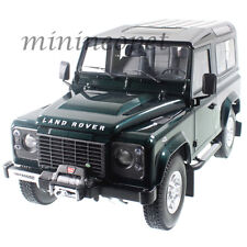 KYOSHO 08901G 1984 84 LAND ROVER DEFENDER 90 1/18 DIECAST MODEL CAR GREEN