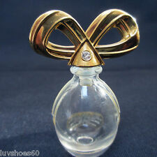 Miniature White Diamonds Collectible Empty Elizabeth Taylor Perfume Bottle
