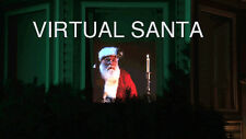 Virtual Reality SANTA in the WINDOW DVD Projection VIDEO Disc CHRISTMAS Holiday
