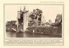 1916 Serengeti Big-game Shooting Ruins Factory Dixmude