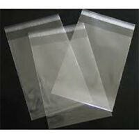 """25 Clear Cellophane Cello Greeting Cards Bags 4.75"""" x 6.5"""""""