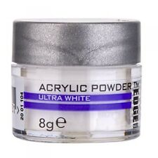Powder Acrylic White  8g / The Edge nails / Supreme Quality  Porcelain nails
