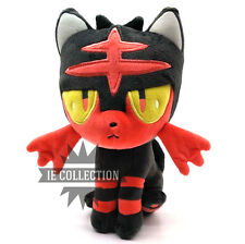 POKEMON SOLE E LUNA LITTEN 22 CM PELUCHE pupazzo center Flamiaou Flamiau plush