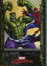 2007 Marvel Masterpieces Gold Border Complete set
