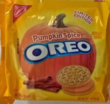 LIMITED EDITION Pumpkin Spice OREO sandwich creme cookies biscuits 303g from USA